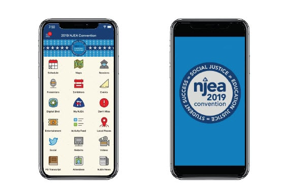 Plan your Convention with the NJEA Events app